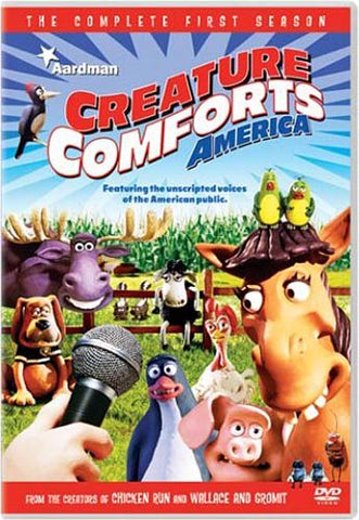Creature Comforts America - The Complete Season One DVD Movie