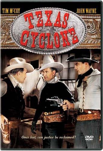 Texas Cyclone DVD Movie