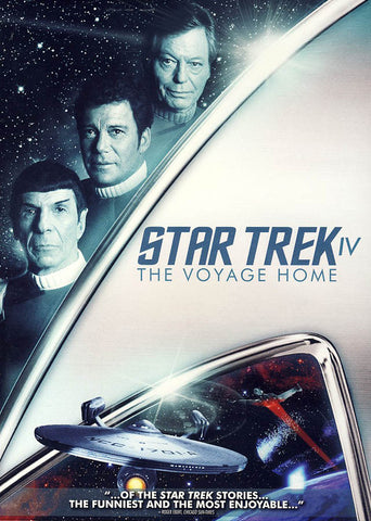 Star Trek IV: (4)The Voyage Home DVD Movie