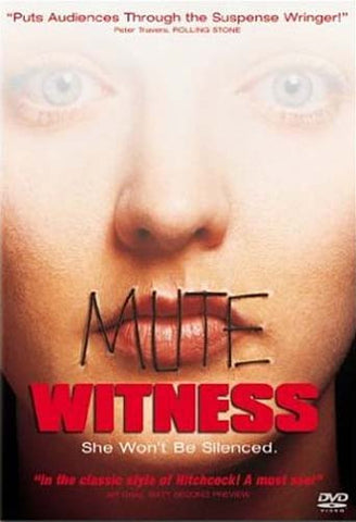 Mute Witness DVD Movie