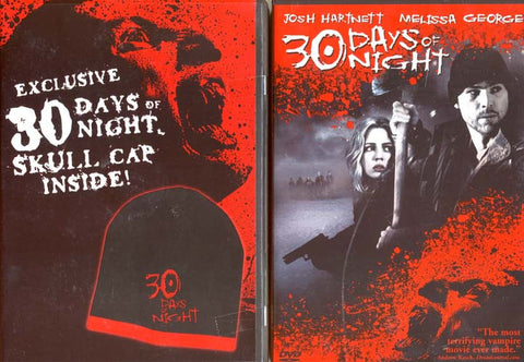 30 Days of Night (With Exclusive Skull Cap) (2-Pack) (Boxset) DVD Movie