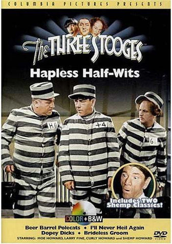 The Three Stooges - Hapless Half-Wits DVD Movie