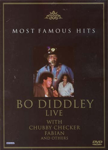 Bo Diddley - Live With Chubby Checker, Fabian and Others (Most Famous Hits) DVD Movie