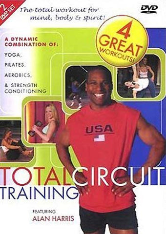 Total Circuit Training Featuring Alan Harris DVD Movie