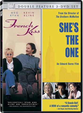 French Kiss / She's the One (Double Feature) DVD Movie