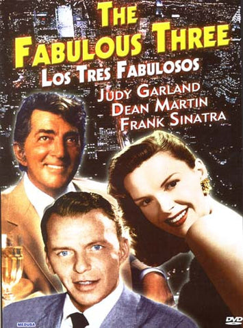 The Fabulous Three - Judy Garland, Dean Martin, Frank Sinatra DVD Movie