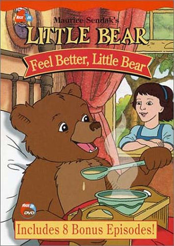 Little Bear - Feel Better Little Bear DVD Movie