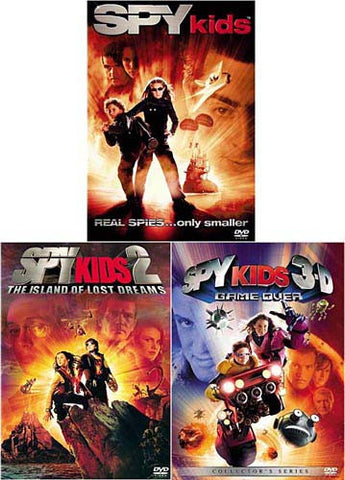 The Spy Kids Collection (Spy Kids/Spy Kids 2-The Island of Lost Dreams/3-D-Game Over) (Boxset) DVD Movie
