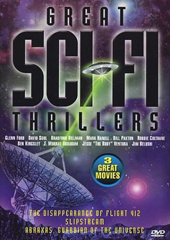 Great SciFi Thrillers (The Disappearance Of Flight 412/Slipstream/Abraxas, Guardian Of The Universe) DVD Movie