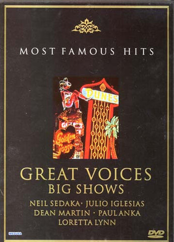 Great Voices, Big Shows (Most Famous Hits) DVD Movie