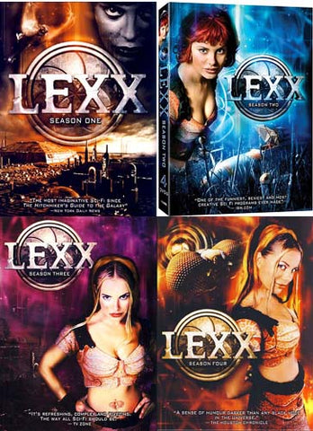 Lexx - Season One / Season Two / Season Three / Season Four (4 Pack) (Boxset) DVD Movie