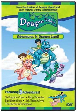 Dragon Tales - Adventures in Dragon Land DVD Movie