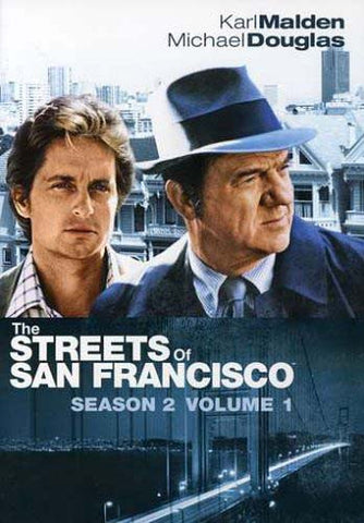 The Streets of San Francisco: Season Two, Vol. 1 (Boxset) DVD Movie