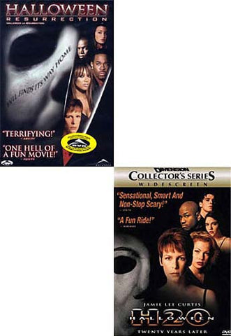 Halloween H2O - Twenty Years Later / Halloween - Resurrection (2 pack) DVD Movie