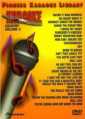 Pioneer Karaoke Library Country Volume 3