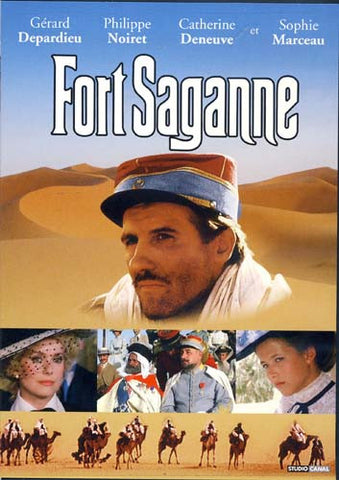 Fort Saganne (French Only) DVD Movie