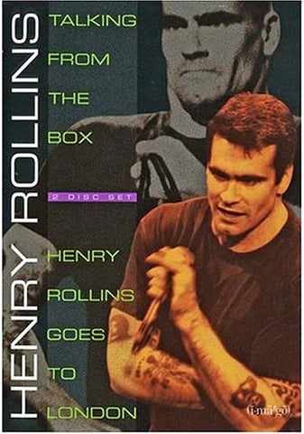 Henry Rollins - Talking From the Box/Henry Rollins Goes to London DVD Movie
