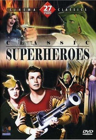 Classic Super Heroes Collection DVD Movie
