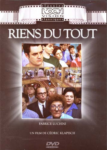 Riens Du Tout DVD Movie