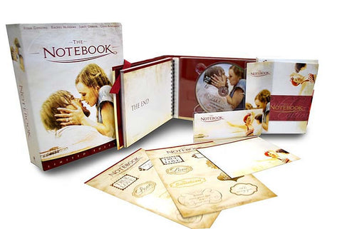 The Notebook (Limited Edition) (Blu-ray) (Boxset) BLU-RAY Movie