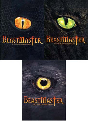 BeastMaster - The Complete 1 / 2 / 3 Season (Boxset) (3 Pack) DVD Movie