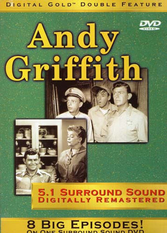 Andy Griffith Digital Gold Double Feature - 8 Episodes DVD Movie