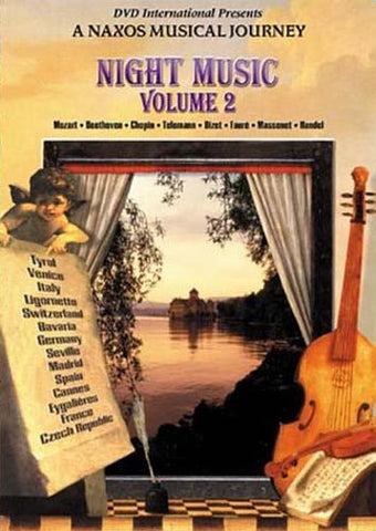 Night Music - Volume 2 - Scenes of Europe DVD Movie