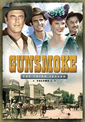 Gunsmoke - The Third Season, Vol. 1 (Boxset) DVD Movie