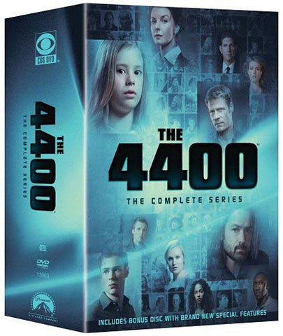 The 4400 - The Complete Series (Boxset) DVD Movie