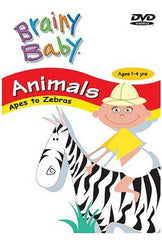 Brainy Baby - Animals - Apes To Zebras (Do not enter in inventory)