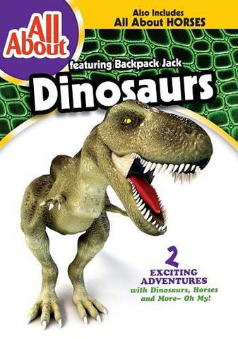 All About - Dinosaurs And Horses DVD Movie