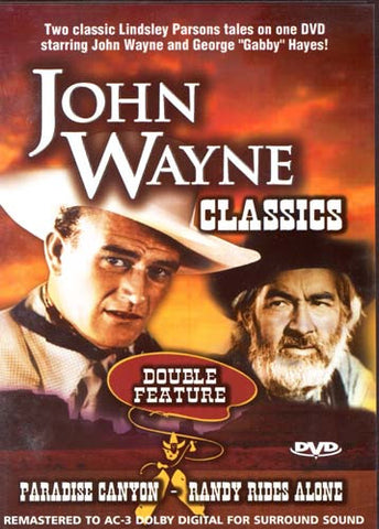 John Wayne - Paradise Caynon/Randy Rides Alone (Double Feature) DVD Movie