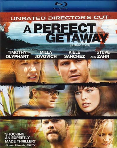 A Perfect Getaway (Unrated Director s Cut) (Bilingual) (Blu-ray) BLU-RAY Movie