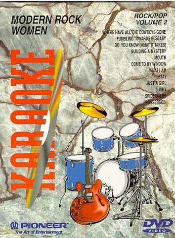 Karaoke - Modern Rock Women Vol. 2 DVD Movie