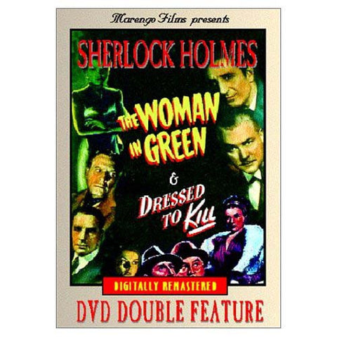 Sherlock Holmes Double Feature - The Woman in Green / Dressed to Kill DVD Movie
