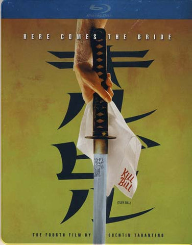 Kill Bill, Vol.1 (Special Edition Steelbook Case) (Blu-ray) (Bilingual) BLU-RAY Movie