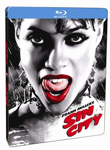 Sin City (Special Edition Steelbook Case) (Blu-ray) BLU-RAY Movie