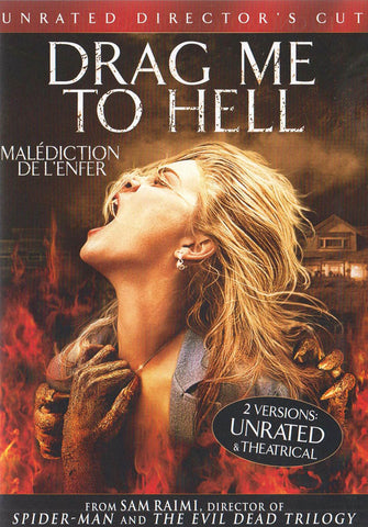 Drag Me to Hell (Unrated Director s Cut) (Bilingual) DVD Movie