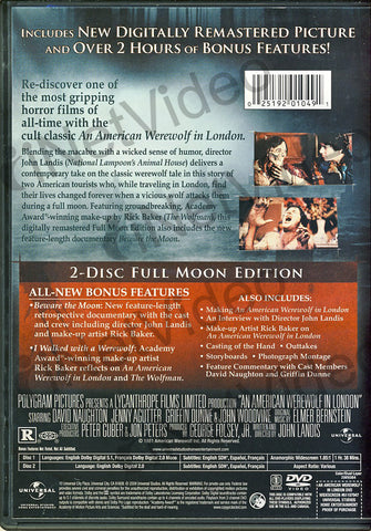 An American Werewolf in London (Full Moon Edition) DVD Movie