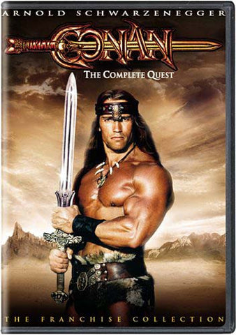 Conan - The Complete Quest (Conan The Barbarian/The Destroyer) DVD Movie