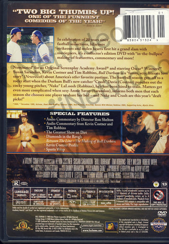 Bull Durham (20th Anniversary Edition) (Collector's Edition) DVD Movie