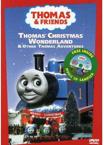 Thomas and Friends - Thomas' Christmas Wonderland (With Bonus CD Sampler) DVD Movie