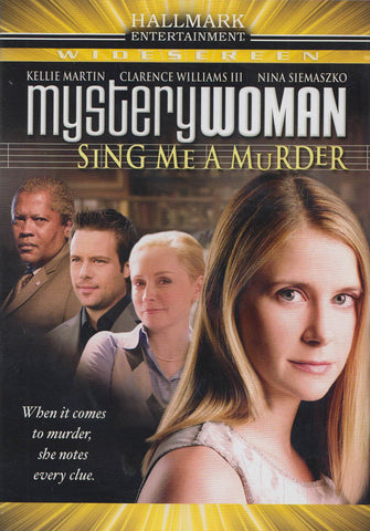 Mystery Woman - Sing Me a Murder DVD Movie