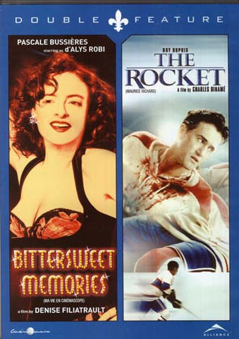 Bittersweet Memories(Ma Vie En Cinemascope)/The Rocket (Maurice Richard) (Double Feature) DVD Movie
