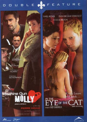 Machine Gun Molly/Monica la mitraille / In The Eye Of The Cat/Dans L'Oeil Du Chat (Double Feature) DVD Movie