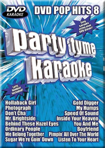 Party Tyme Karaoke - DVD Pop Hits - Vol. 8 DVD Movie