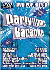 Party Tyme Karaoke - DVD Pop Hits - Vol. 8