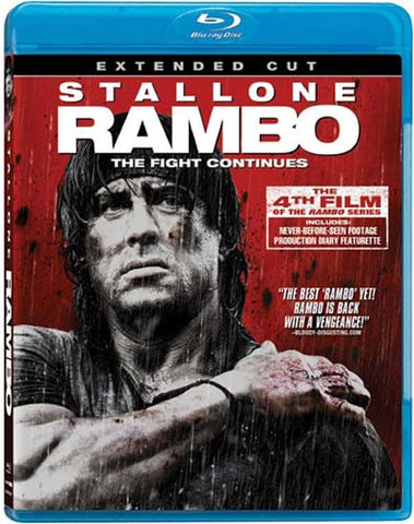 Rambo - The Fight Continues (Extended Cut) (Blu-ray) BLU-RAY Movie