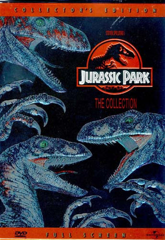 Jurassic Park - The Collection (Jurassic Park / The Lost World) (Fullscreen Edition) (Boxset) DVD Movie