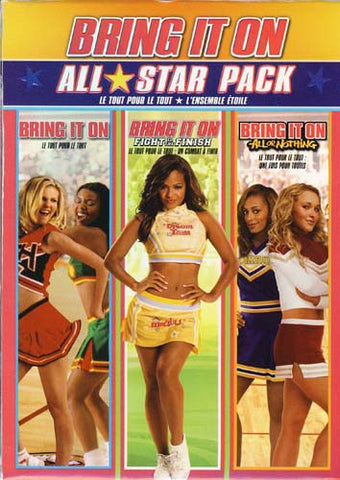 Bring It On-All-Star Collection (Bring It On/Fight To The Finish/All Or Nothing)(Boxset)(Bilingual) DVD Movie